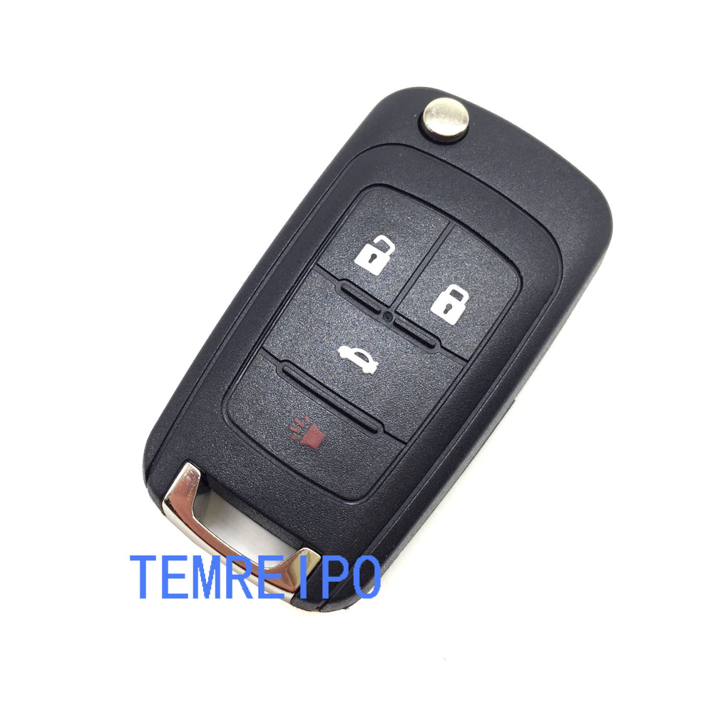 Rectangle Hi Off Lo Switch Seat Heater 4 Seats Install: 4 Buttons Car Styling Folding Key Remote Replacement Case
