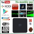 Android TV Box S9 OTT TV Box, Newest and Best Selling Product S9 Smart TV Box,WIFI 2.4GHz+BT4.0,Android 4.4.2+KodiOS