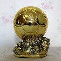 24 cm Fornecimento Direto Da Fábrica de Futebol Jogador do mundo do Ano Ballon d'Or Troféu Resina Bola de Ouro