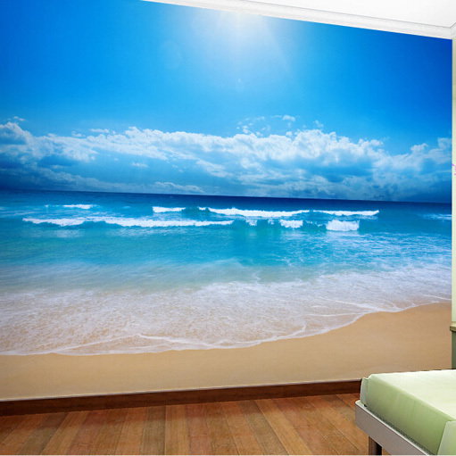 sea and sun of beach big wall mural for living room background wonderful choice llama llama sand and sun
