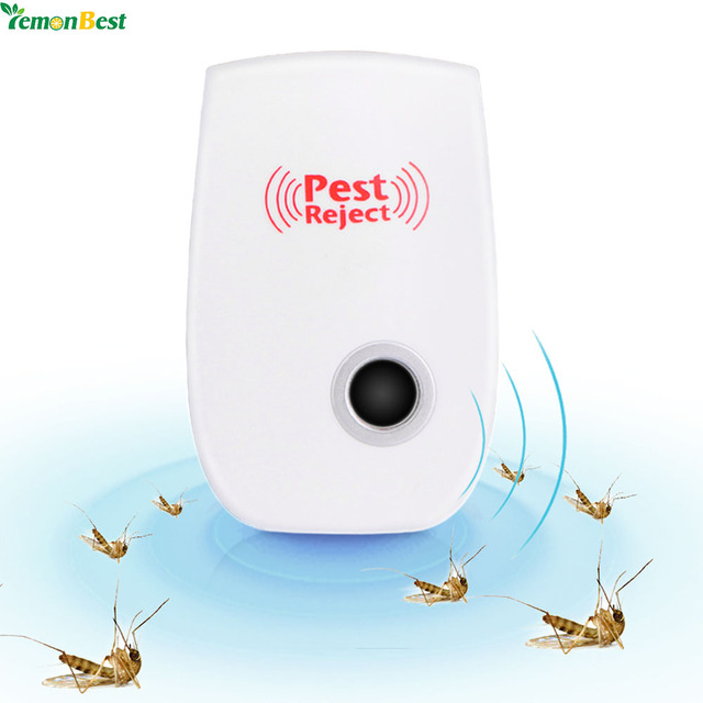 1Pcs Electronic Ultrasonic Pest Repeller EU/US Plug Home Indoor Non-Toxic Safe Mosquito Killer Anti Mosquito Reject Repeller
