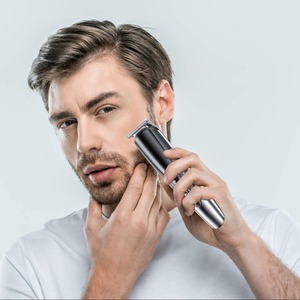 Image 2 - עמיד למים מקצועי שיער גוזם זקן trimer גוף פנים שיער גוזז חשמלי שיער מכונת חיתוך תספורת גברים טיפוח