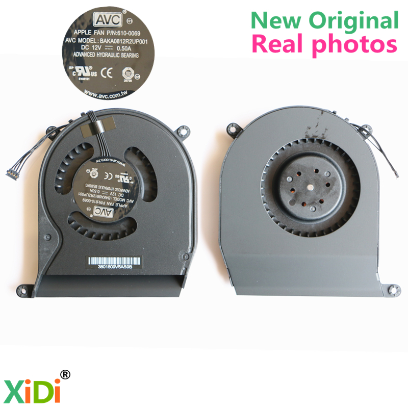 UUS Original COOLING FAN APPLE FAN-le P / N: 610-0069 Apple Mac Mini A1347 2011. aasta keskel CPU COOLING FAN
