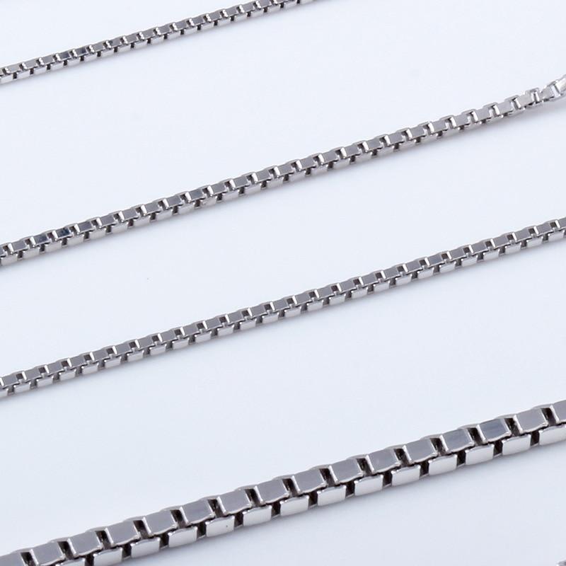 YWM 925 ստերլինգ արծաթե տուփի ցանցի - Նուրբ զարդեր - Լուսանկար 3