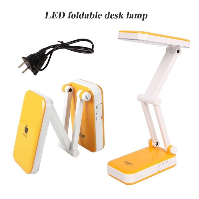Fashion Folding Led Desk Lamp Modern Table Lamps Rechargable Portable Energy Saving Bedside Lights