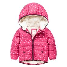 Meanbear MY07 Fashion Hedgehog Winter Cotton Chirden Thicken Padded Lining Jacket Hoodies Keep Warm Boy Girl Coat Tops Outwear