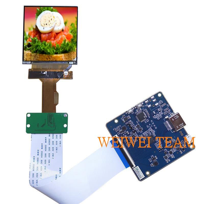 LS029B3SX02 carte contrôleur HDMI à MIPI 2.9 pouces TFT LCD Module 1440X1440 réalité virtuelle VR panneau d'affichage en verre HMD 40 broches