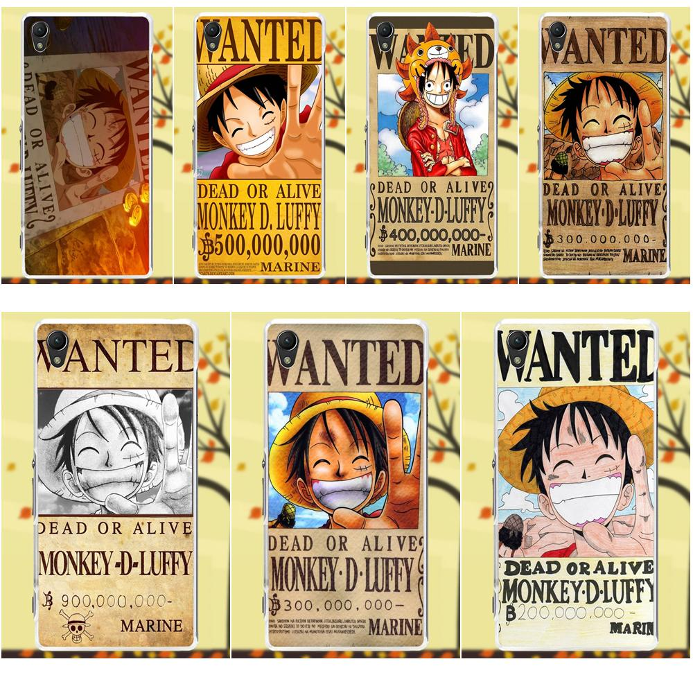 One Piece Monkey D Luffy Wanted Poster Soft TPU Hot ...