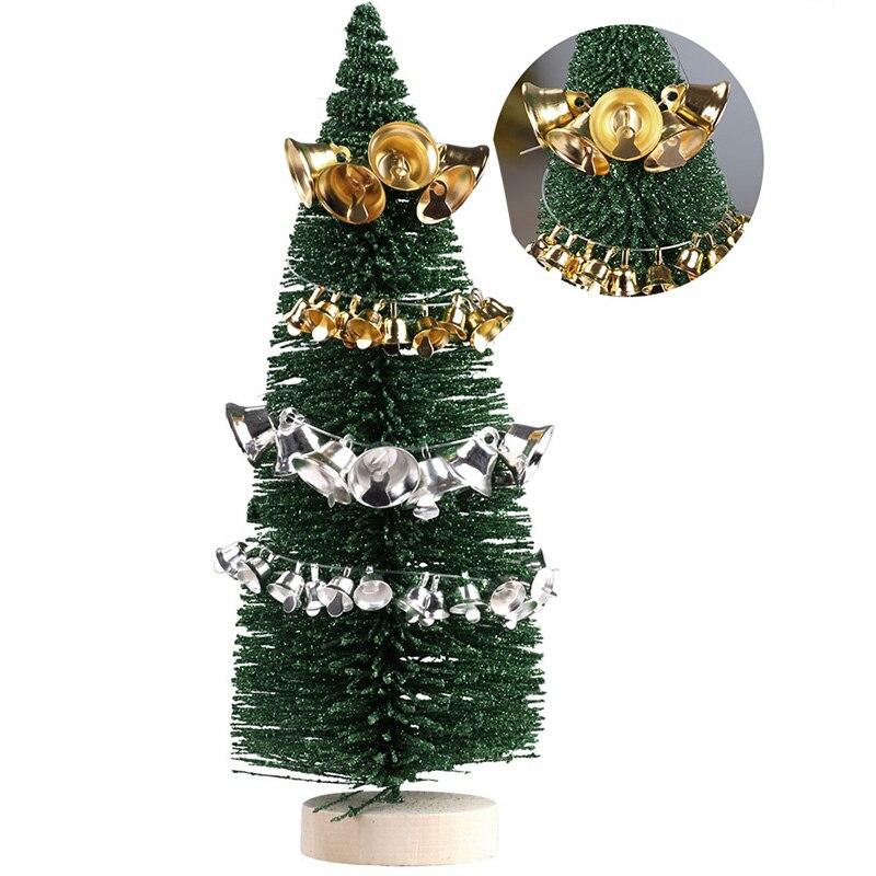 5000 шт. маленькие колокольчики для рукоделия, мини колокольчики, Золотые Серебряные подвесные металлические колокольчики, Свадебные Рождественские украшения, аксессуары - 4