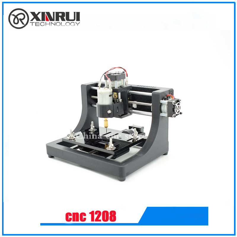 Mini cnc machine 1208 ,pcb milling machine, mini wood router for study and research best hobby machine mini cnc router machine 2030 cnc milling machine with 4axis for pcb wood parallel port