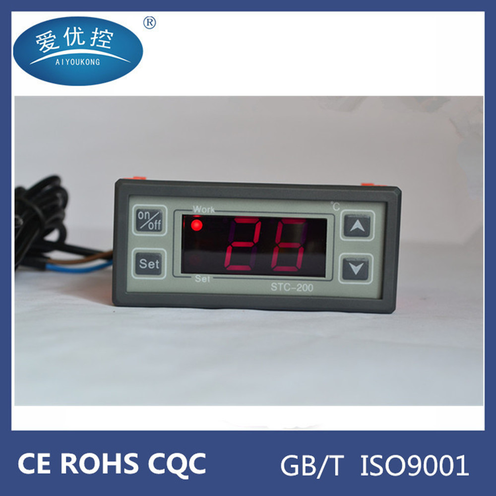 STC-200 digital microcomputer temperature controller