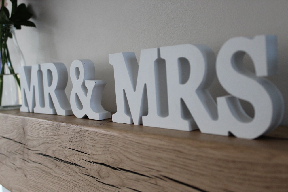 Aliexpress.com : Buy Free Shipping Wooden Wedding Signs
