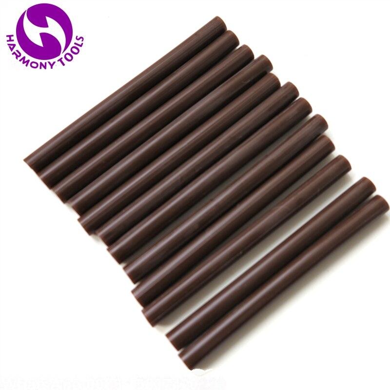 Harmony 60 шт. коричневый кератина волос инструменты Горячий клей палочки 7.5 мм диаметр) x 100 мм длина