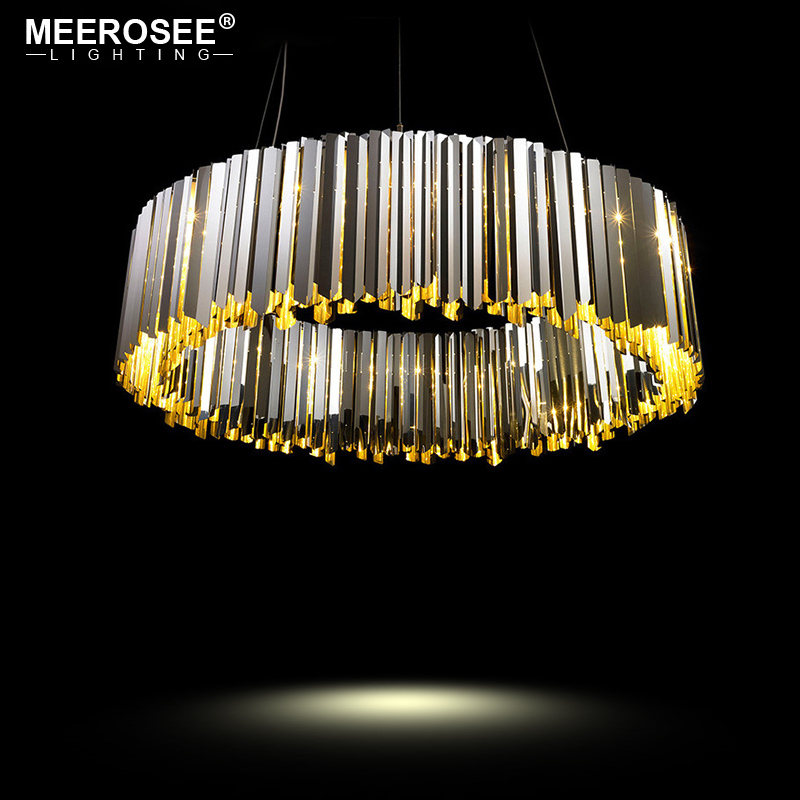 New Arrival Pendant Lights North Europe Style Hanging Lamp for Dining room foyer Stainless Steel Pendant Lighting crysta lamp pendant lights lounge dining room bedroom lamp lychee simple new european style warm crystal hanging lamp