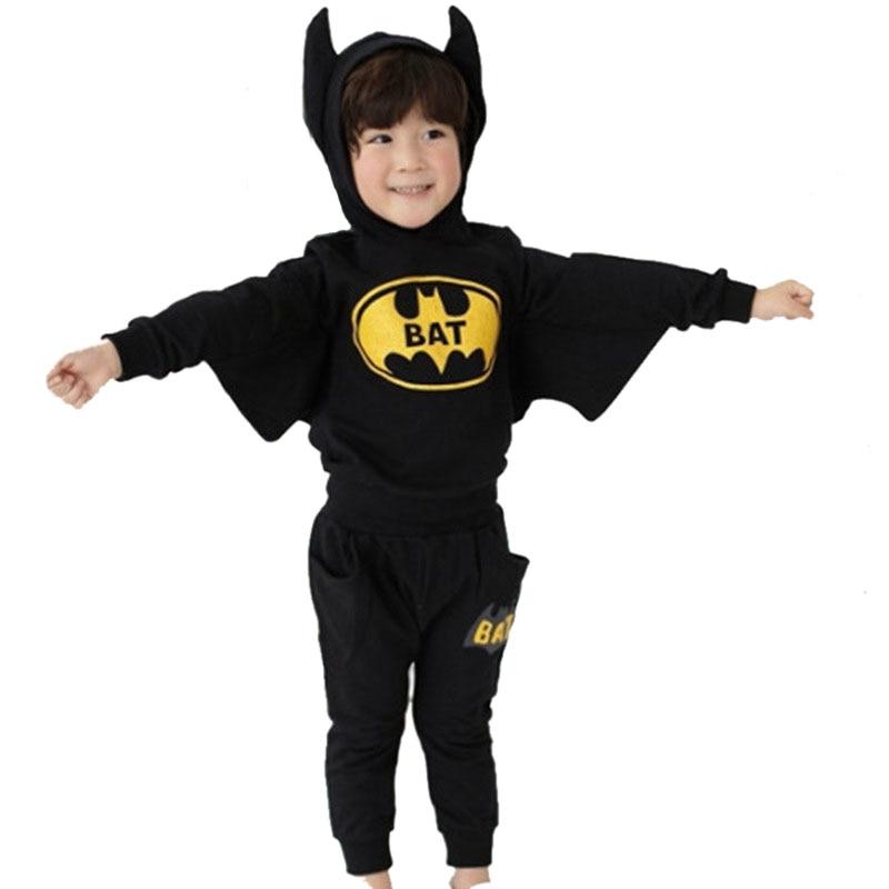 tracksuit for boys hooded coat cross-border long-sleeved batman modelling fleece suit children suit baby boys clothes for 9 10 T batman detective comics volume 9 gordon at war