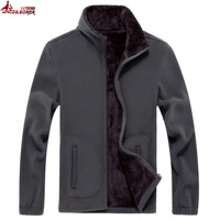 UNCO BOROR Mens Softshell Fleece Casual Jackets Men Warm Sweatshirt Thermal Coats Fleece Tactical Bomber Jacket
