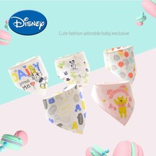 Disney Baby Bibs Water-proof Burp Clothes Mickey Saliva Towel Cotton Kids Accessories#1