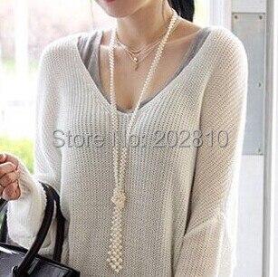 좋은 품질의 패션 OL 스타일 진주 목걸이, 2020 새로운 - 패션 쥬얼리 - 사진 1