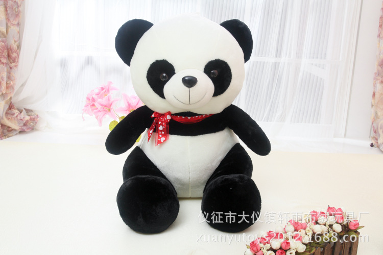 fillings toy , large sitting pose panda soft plush toy about 60cm  , throw pillow , birthday gift w5150 lovely giant panda about 70cm plush toy t shirt dress panda doll soft throw pillow christmas birthday gift x023