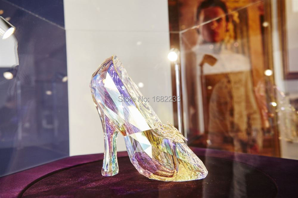 2015 Bling Bling Cinderella Diamond Lace Crystal Pointed Toe Bow ... 10605c742e6a