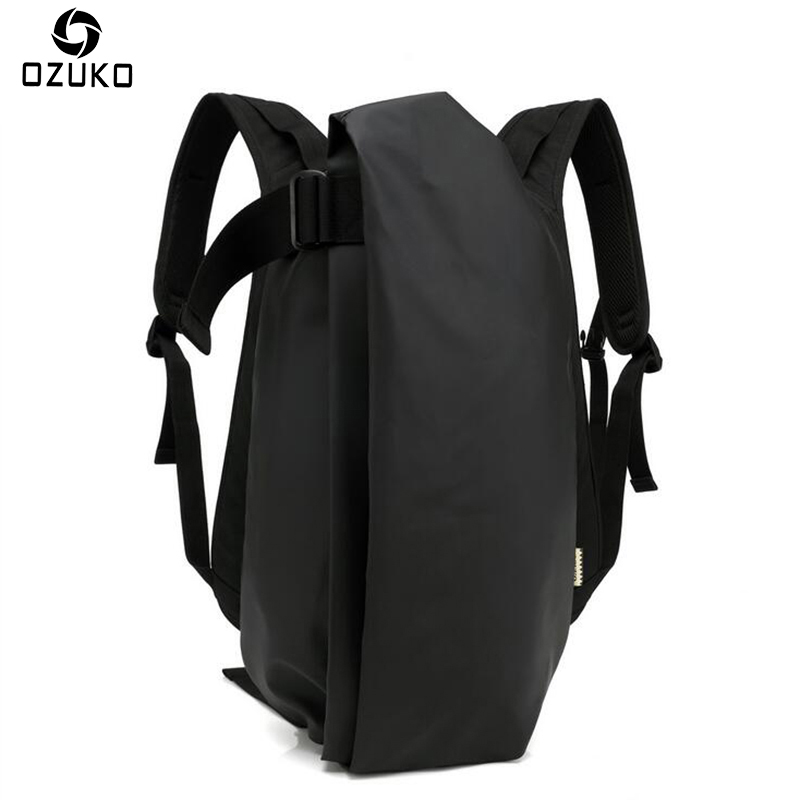 OZUKO Large capacity Male Waterproof Travel Mochila Fashion Men's 15.6inch Laptop Backpack for Teenagers Casual School Bags 2018 ozuko men casual backpacks lightweight multifunction waterproof laptop backpack large capacity travel bag teenagers school bags