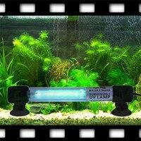 UV Sterilisatie Lamp Aquarium Aquarium Dompelpompen Licht EU Plug