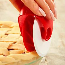 Pizza Pastry Rolling Wheel Decorator Cutter Baking Pie Lattice Biscuit Dough Roller Manual Cutting Tools Y1QB 2 pcs dough cutter roller needle wheels lattice embossing pie pizza bakeware plastic kitchen utensil baking tools cookie