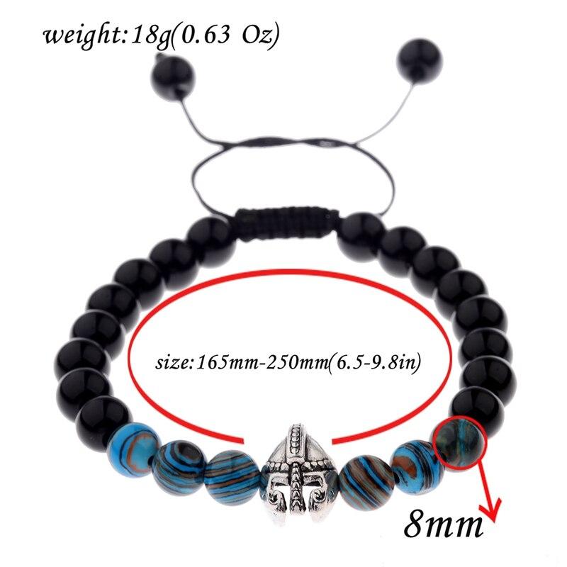 Warrior Gladiator Helmet Bright Bracelet  5