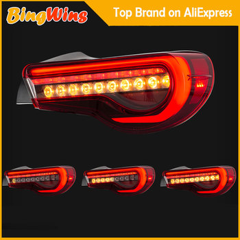 Car Taillight Assembly For Toyota GT 86 Tail Light 2012-2017 Led Taillights Car Rear Lamp LED DRL+Brake+Dynamic turn signal