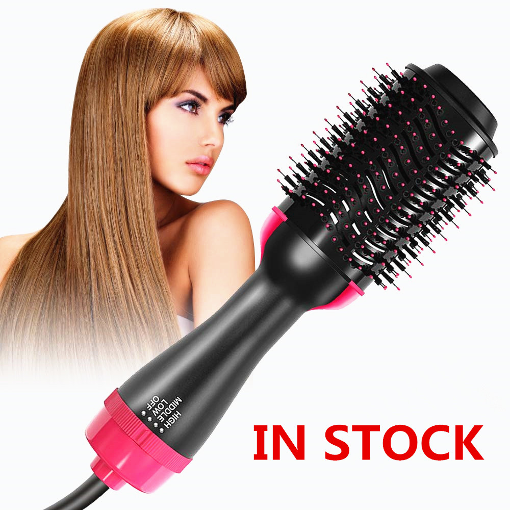 In Stock Dropshipping Hair Brushes One-Step Hair Dryer & Volumizer Negative Ion Hot Air Brush Straightener Styling Tools In Stock Dropshipping Hair Brushes One-Step Hair Dryer & Volumizer Negative Ion Hot Air Brush Straightener Styling Tools