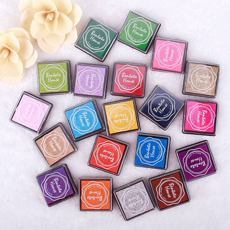New hot sale colorful ink pads children fingerprint for Ink sale