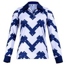 Top Quality PGM Womens Golf Clothing Korean Ladies Long-sleeved Polo Shirt Autumn Winter Golf Sports Tshirt Jersey Apparel S-XL