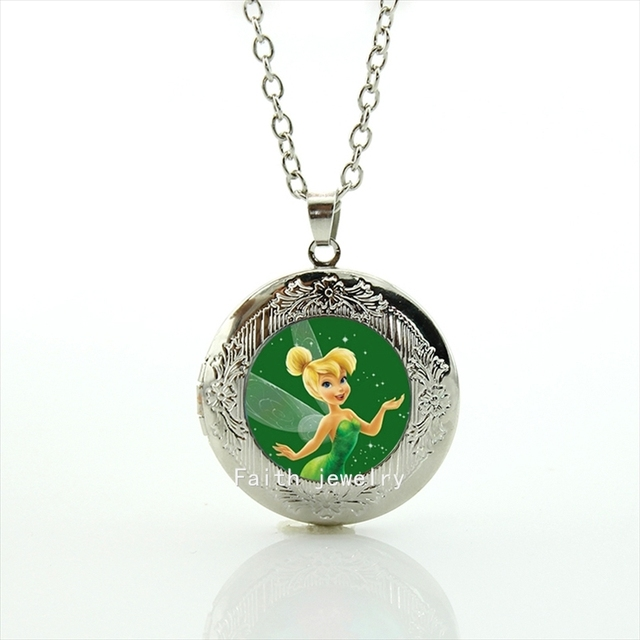 Fine jewelry lovely case for tinkerbell pendant silver plated long fine jewelry lovely case for tinkerbell pendant silver plated long chain necklace for women gift hh151 aloadofball Gallery