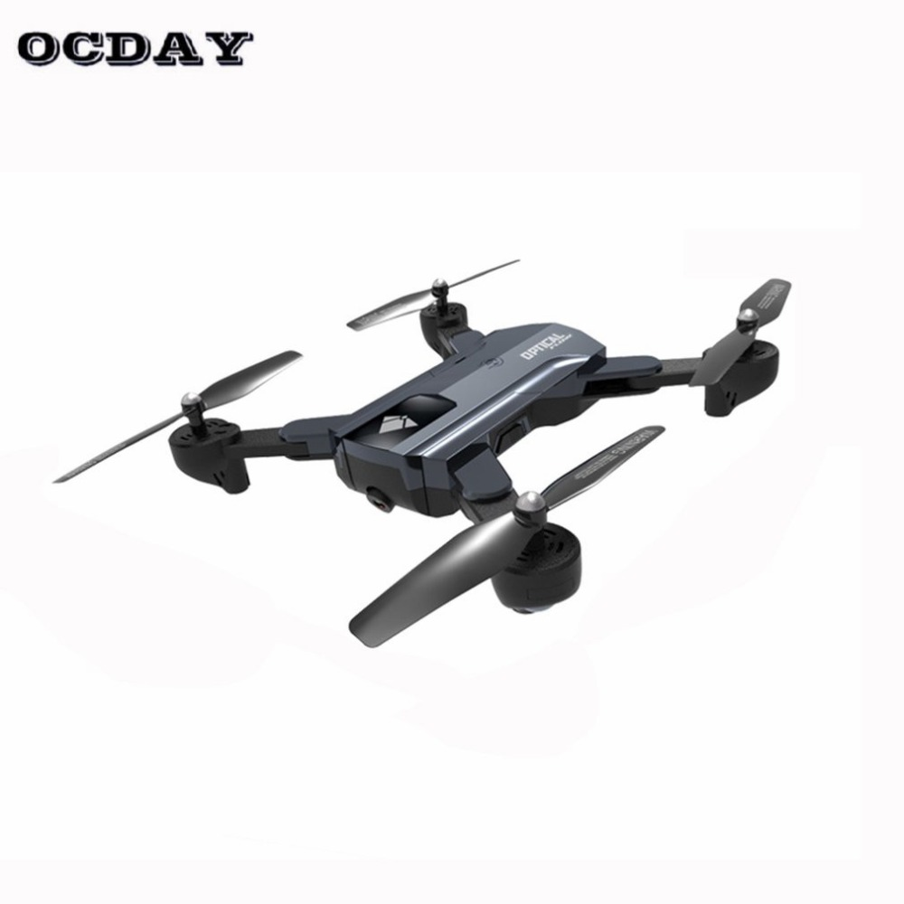 F196 Optical Flow Localization Foldable Quadcopter Wi-Fi RC Drone with 2.0MP HD Camera 1100mAh Battery Headless Mode AircraftF196 Optical Flow Localization Foldable Quadcopter Wi-Fi RC Drone with 2.0MP HD Camera 1100mAh Battery Headless Mode Aircraft