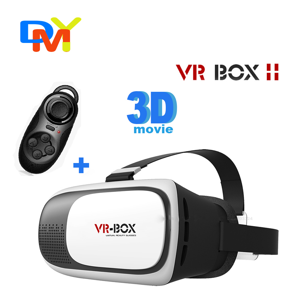 Head Mount Plastic VR BOX 2.0 Version VR Virtual Reality Glasses Google Cardboard 3d Game Movie for 3.5″ – 6.0″ Smart Phone
