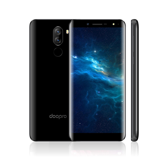 Doopro P5 Smartphone 5.5 18:9 MTK6580 Quad Core Android 7.0 1GB RAM 8GB ROM 5MP Dual Camera 3500mAh Battery Mobile Phone