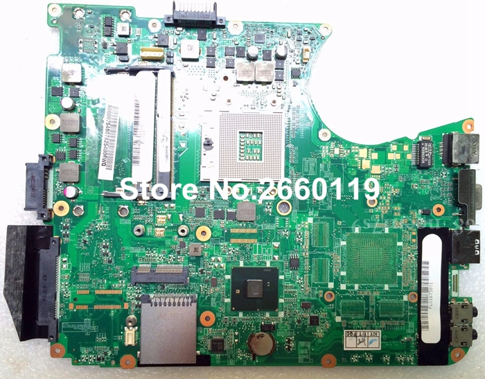laptop motherboard for toshiba L655 A000075480 system mainboard, fully tested laptop motherboard for toshiba t130d a000063990 dabu3amb8e0 system mainboard fully tested and working well