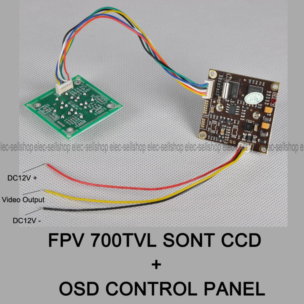 hight resolution of sony 700tvl fpv wiring diagram
