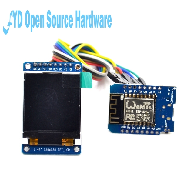 1set ESP8266 development kit with TFT screen for Internet of things ...