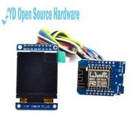 Conjunto 1 ESP8266 development kit com tela TFT para a Internet das coisas função Wi fi de casa inteligente de temperatura e umidade|kit kits|kit esp8266|kit wifi -