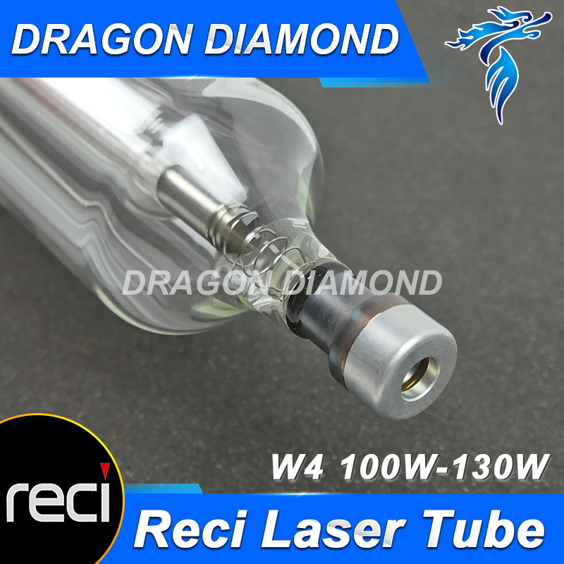 Reci W4 100W Diameter 80mm Length 1400mm CO2 Laser Tube for CO2 Laser Engraving Cutting Machine Upgrade S4 Z4 Glass Tube co2 laser machine laser path size 1200 600mm 1200 800mm