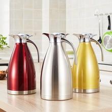2L Stålkedler med stor kapacitet Vandkedler Vakuumisolering Termiske potter Kaffekandeflaske -TZ