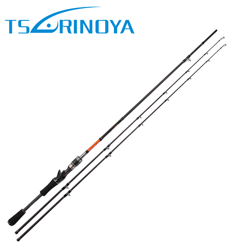 New Trulinoya Joy Together 702C 2 Tips Casting Fishing Rod M & ML power Carbon 5- 20g / 4-12g lure weight fishing Pole iscas
