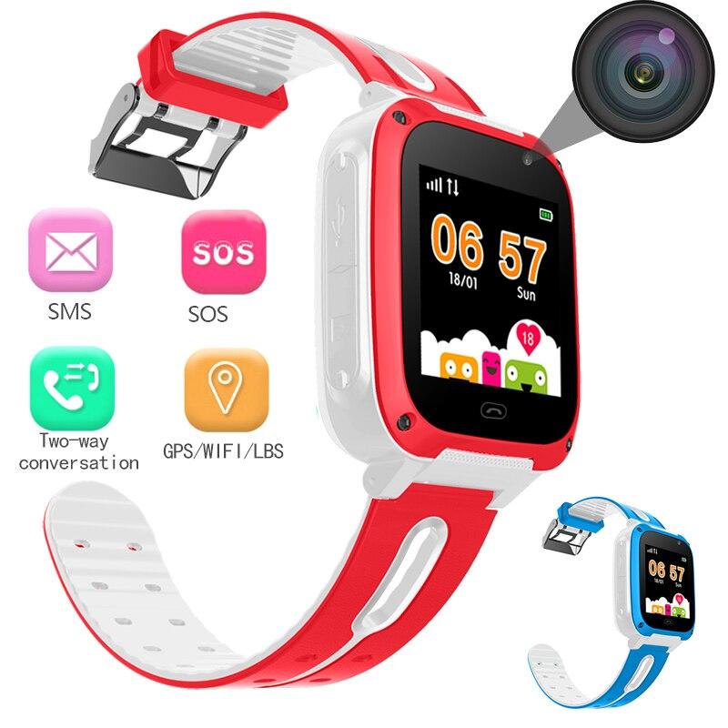 BANGWEI 2018 populaire enfants de smart watch LBS positionnement en temps réel de surveillance SOS aider cadran voix chat amour de récompense montres