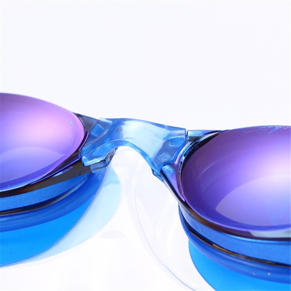 Adult Prescription Optical Myopia Swimming Goggles Anti-Fog Coated Water Diopter Swimming Eyewear 10