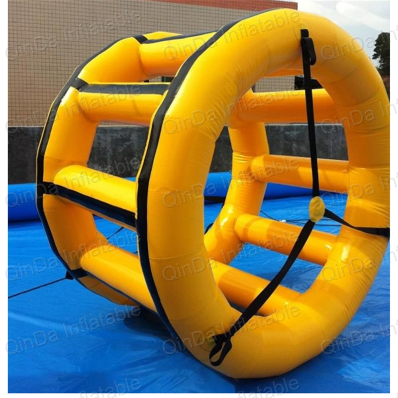 1.5m Long Inflatable Water Wheel Inflatable Water Roller Ball For Kids & Adult For Inflatable Water Park inflatable water spoon outdoor game water ball summer water spray beach ball lawn playing ball children s toy ball