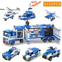 1122 шт спецназ городская полиция серия строительные блоки вертолет городская полиция DIY Кирпичи совместимы LegoED блок Ролевые игрушки для детей конструктор игрушки военные фигурки оружие подарок игрушка мальчику