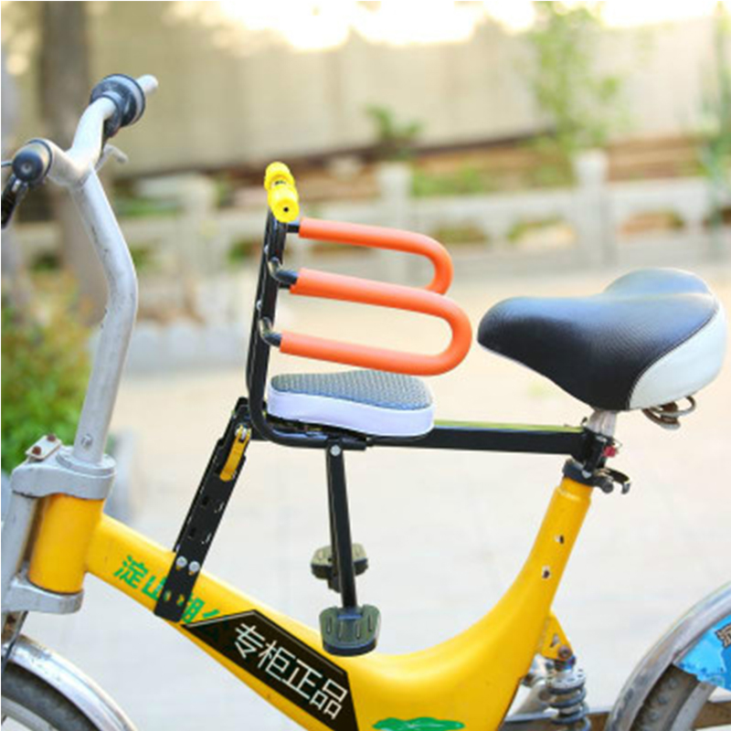 Mountain Bike Bicycle Prepositioned Child Seat Folding Baby Safety Quick Release ...