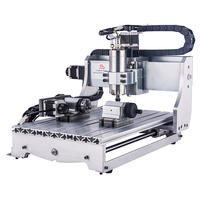 CNC 4030Z 4axis Mini Cnc Router Engraver Wood Lathe Pcb CNC 3040 3 Axis with 1.5KW Water Cooling Spindle