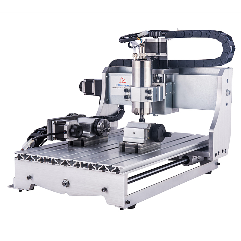 CNC 4030Z 4axis Mini Cnc Router Engraver Wood Lathe Pcb CNC 3040 3 Axis with 1.5KW Water Cooling Spindle new design 3040 cnc frame cnc 3040 mini lathe free tax to ru eu
